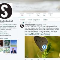 le programme les sentinelles du climat est sur twitter