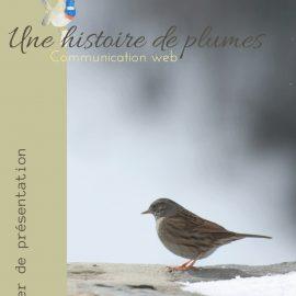 le dossier de présentation d'une histoire de plumes