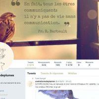 Découvrez Une histoire de plumes sur Twitter !