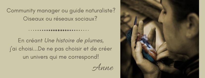 Anne Parisot - community manager en environnement en Gironde