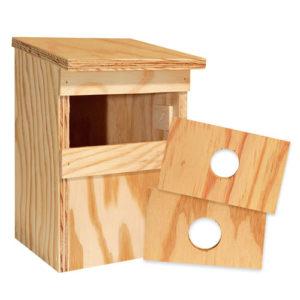 Le nichoir, une des idées cadeaux du bird-blog d'une histoire de plumes