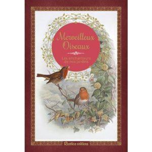 Merveilleux oiseaux, l'une des idées cadeaux d'une histoire de plumes à offrir à un passionné d'oiseaux