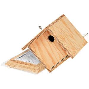 Le nichoir à mésanges, une des idées cadeaux d'une histoire de plumes