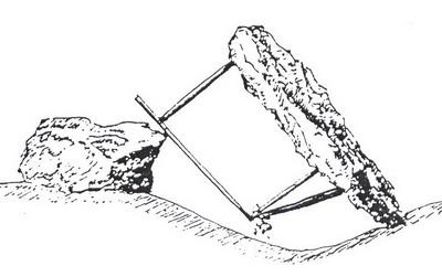 la chasse à la tendelle, une des chasses traditionnelles évoquées dans le nouvel article du Bird-Blog d'une histoire de plumes